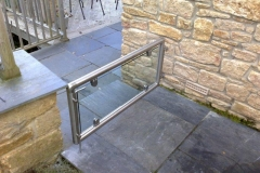 Glass & Stainless Steel Gate