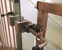Steel Gate Locking System